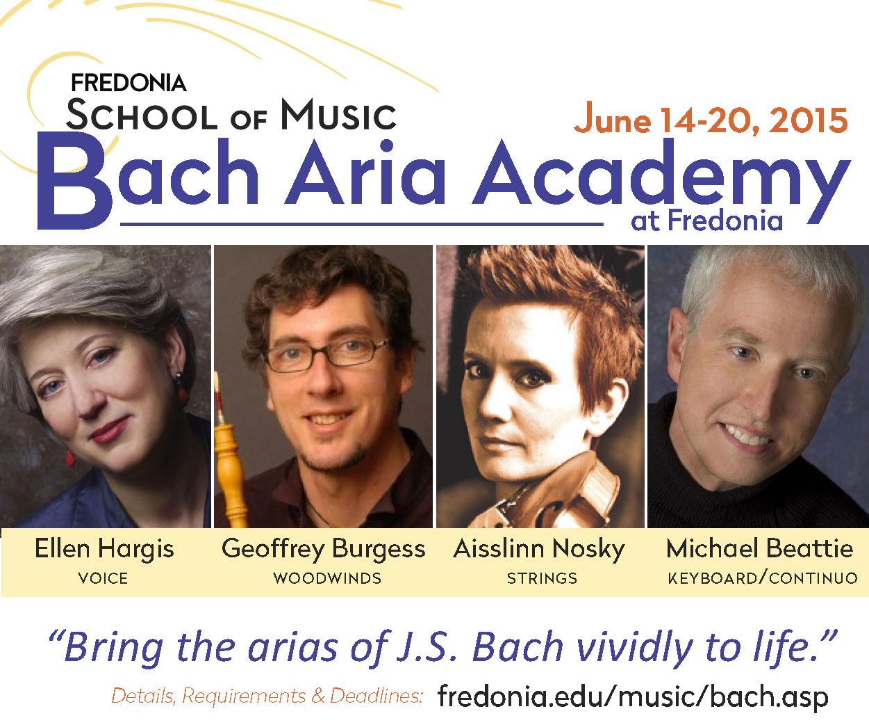 Fredonia Bach Aria Academy