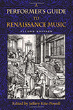 A Performer's Guide Renaissance Music