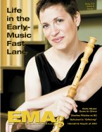 EMAg Spring 2015 Cover Image featuring Debra Nagy