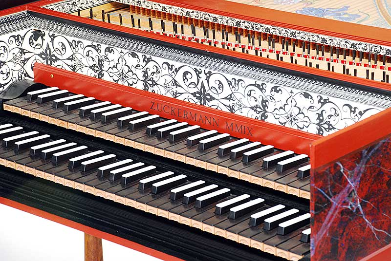 Zuckerman Flemish Double Harpsichord