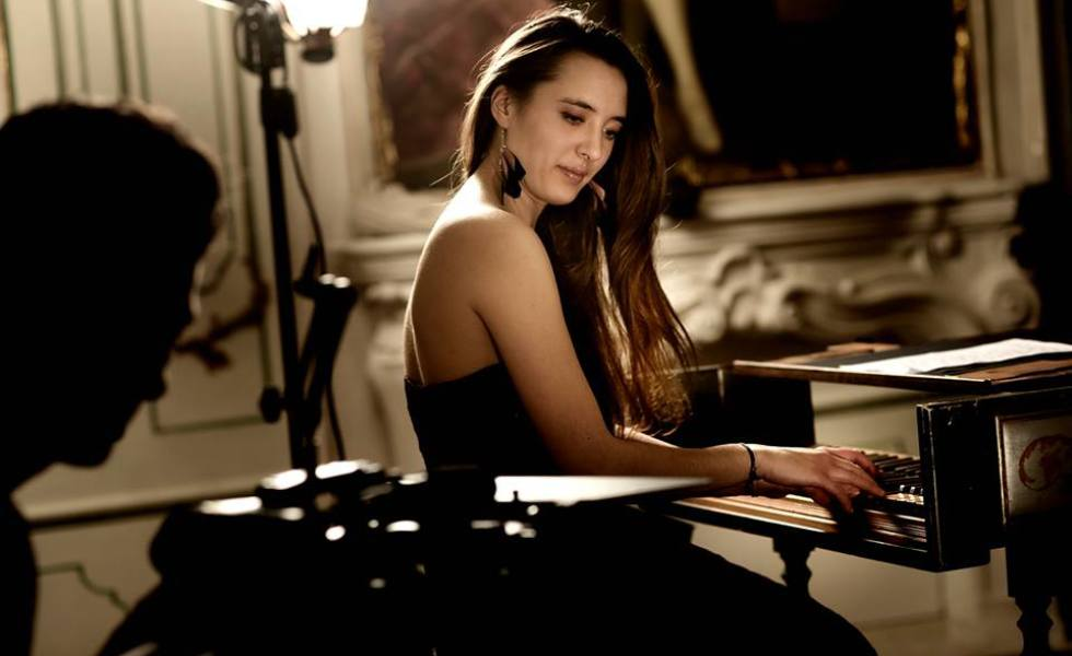French harpsichordist Nadja Saulnier, who shared Second Prize at the 2012 Jurow Competition