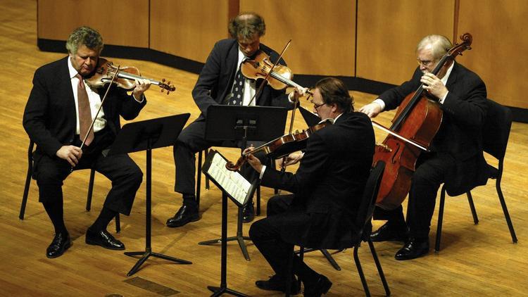 The Vermeer Quartet, in performance in 2004