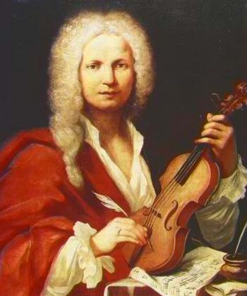 Antonio Vivaldi, inspiration for the Vivaldi Project. (1723 portrait by unknown artist in the Museo Internazionale e Biblioteca della Musica di Bologna)