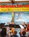 Members of the Oak Grove High School Viol Class at the Texas Renaissance Festival