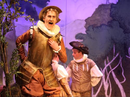 """Peter van de Graaf sang the title role in the 2015 Haymarket production of Telemann's """"Don Quichotte auf der Hochzeit des Comacho."""""""