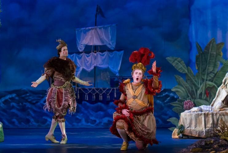 """Haymarket Opera Company opened its 2016-17 season with a production of Haydn's """"L'isola disabitata."""" (Photos courtesy of Haymarket Opera)"""