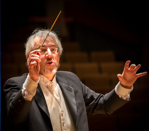 Maute became a conductor after performing as recorder player and baroque flutist. (Photo by Gilles Brissette)