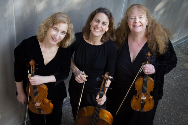 Vivaldi Project members are violinist Elizabeth Field, cellist Stephanie Vail and violinist-violist Allison Edberg Nyquist. (Marion Meakem Photography)