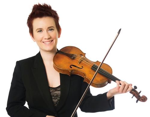 Handel and Haydn Society concertmaster Aisslinn Nosky is soloist.