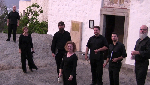 Cappella Romana at the Cave of the Apocalypse on the Greek island of Patmos in 2011.