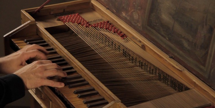 A clavichord from the late 16th or early 17th century