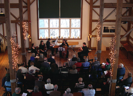 BBE members appeared in the Byron Colby Barn Early Music Series in Grayslake, IL.