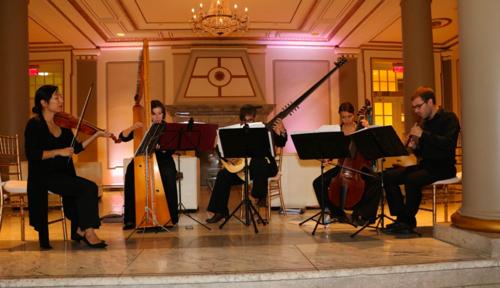 Ensemble La Cigale in concert.