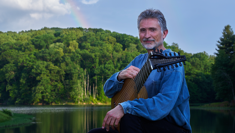 Lutenist Ronn McFarlane will perform with Ayreheart at the Boston Early Music Festival on June 12. (Photo by James Carr)