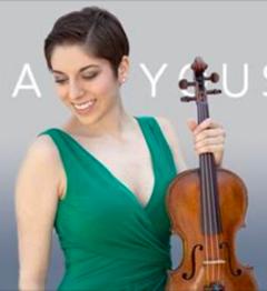 Violinist Alana Youssefian