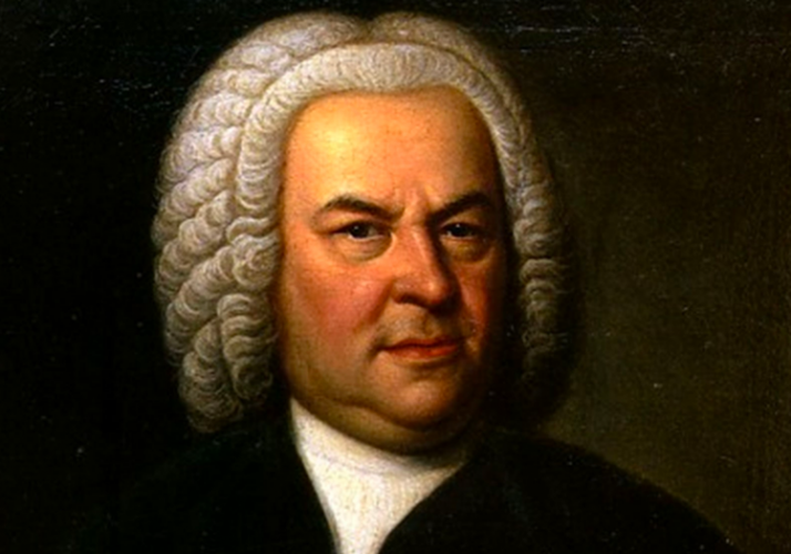 The portrait of J. S. Bach that E. G. Haussmann painted in 1748, two years before the composer's death.