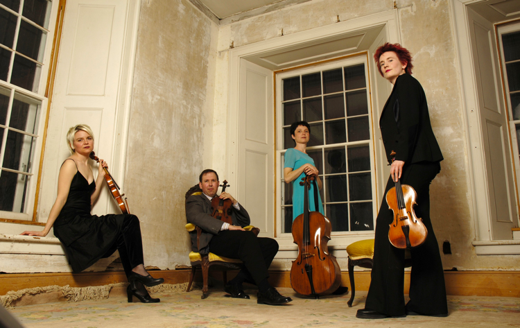 The Eybler Quartet performs Johann Baptist Vanhal's Six Quartets, Op. 6, on its new recording. (Photo courtesy of the Eybler Quartet)