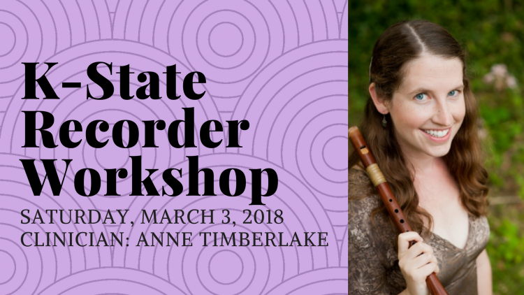 K-State Recorder Workshop 2017 fb event