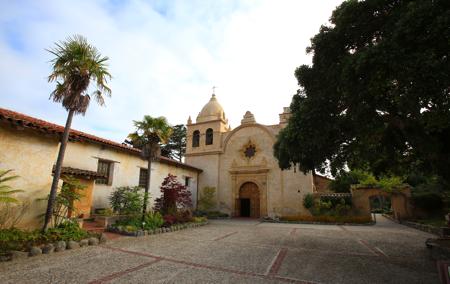 Carmel's Mission Basilica