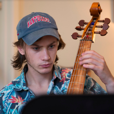 Benjamin Bossert studies at the University of Louisville. (Ben Cooper)