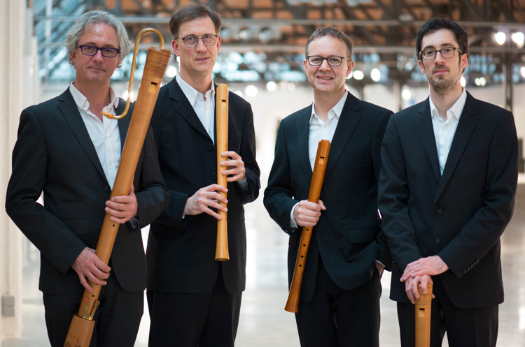 The Flanders Recorder Quartet is disbanding after 30 distinguished years of music-making. (Photo by Koen Beets)