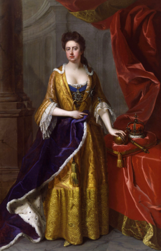 Portrait of Queen Anne by Michael Dahl (1705)