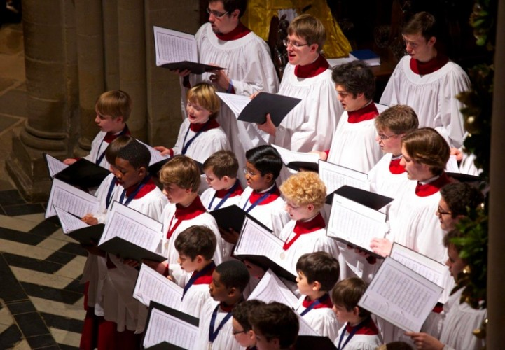 The Choir of Christ Church, Oxford in concert.