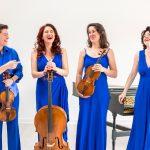 The Brook Street Band: Rachel Harris, Tally Theo, Farran Scott, Carolyn Gibley