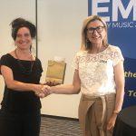 Nina Stern, S'Cool Sounds Presented With 2019 Goldberg Award
