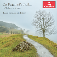 Album Cover On Paganini's Trail
