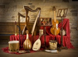 a collection of period instruments