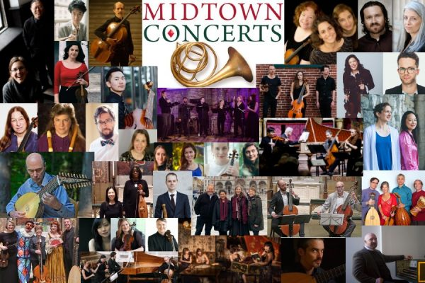 Midtown Concerts 2020-21 season collage