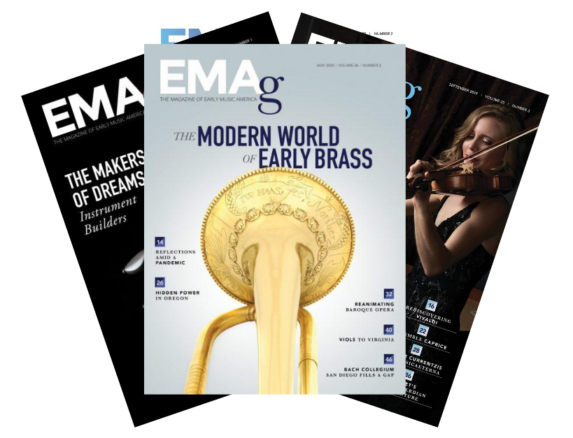 emag issue covers in a fan