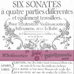 Sonata 6: Joseph Bodin de Boismortier