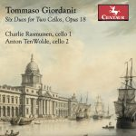 Tommaso Giordani: Six Duos for Two Cellos, Opus 18